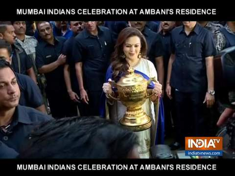 Mumbai Indians return home to rapturous welcome after 4th IPL title