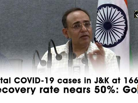 Total COVID-19 cases in J&K at 1668, recovery rate nears 50%: Govt