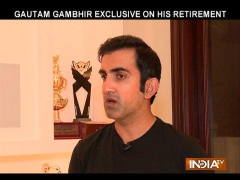 Exclusive | Decision on retirement was not easy to take: Gautam Gambhir