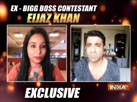 बिग बॉस 14 के कंटेस्टेंट एजाज खान ने इंडिया टीवी से की खास बातचीत