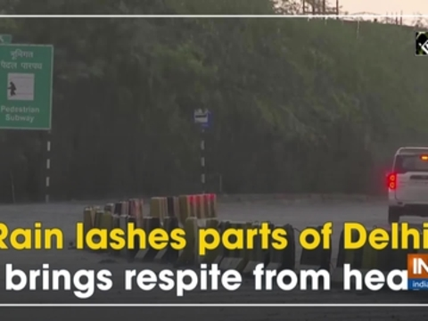 Rain lashes parts of Delhi, brings respite from heat