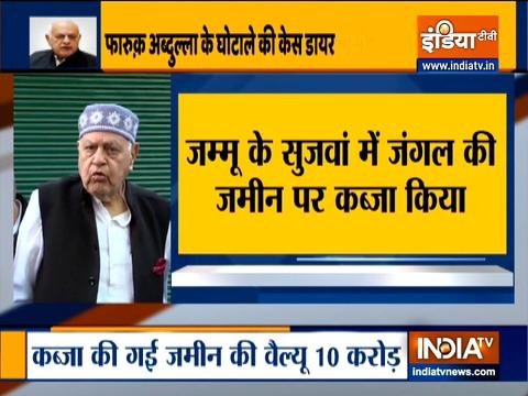 Farooq Abdullah named in Jammu and Kashmir's Roshni land scam