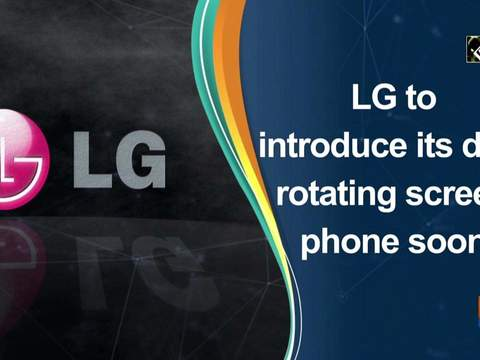 LG to introduce its dual rotating screen phone soon