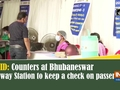 COVID: Counters at Bhubaneswar Railway Station to keep a check on passengers
