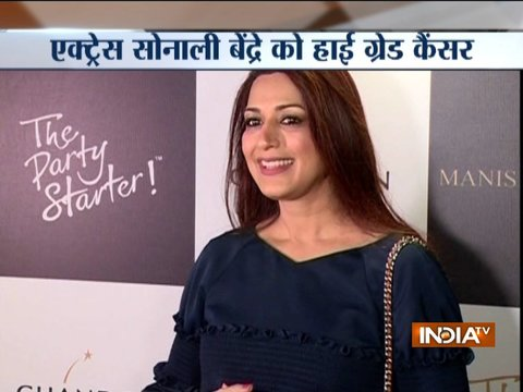 Bollywood actress Sonali Bendre diagnosed with high-grade cancer