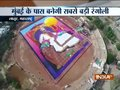 Maharashtra's Latur to enter Guinness hall of fame with world's largest rangoli