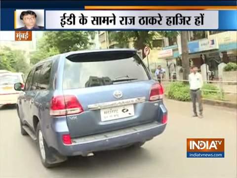राज ठाकरे आज ईएल एंड एफएस घोटाले में ईडी के सामने होंगे पेश