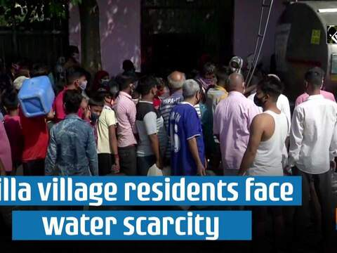 Chilla village residents face water scarcity