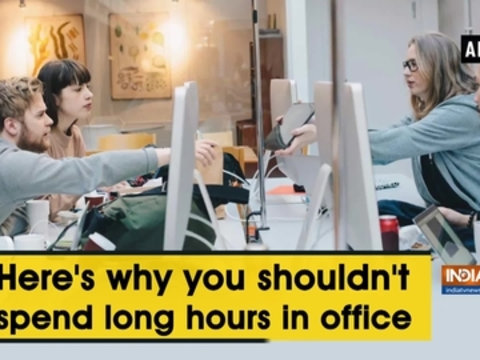 Here's why you shouldn't spend long hours in office