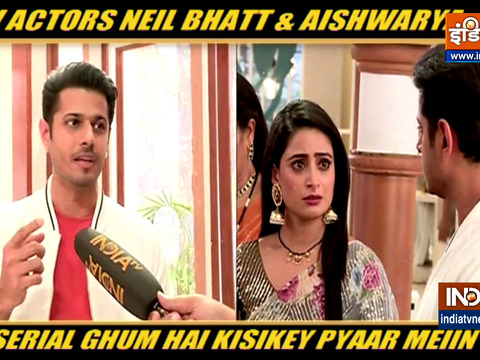 Neil Bhatt, Aishwarya Sharma talks about their show Ghum Hai Kisi Ke Pyar Mein