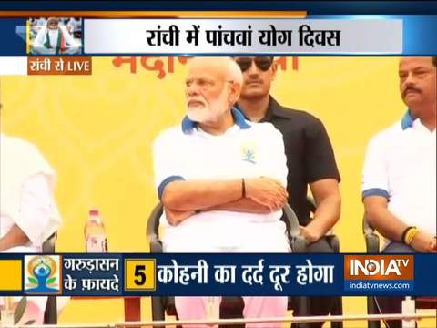 PM Narendra Modi all set for Yoga Day 2019