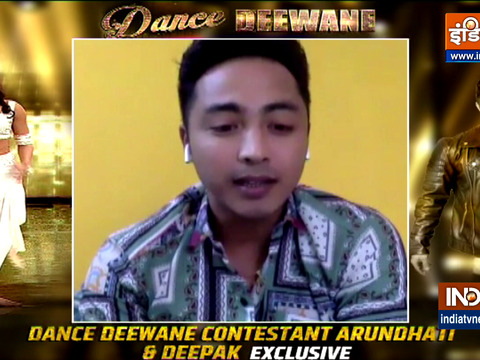 Dance Deewane: Here's what Deepak and Arundhati have to say