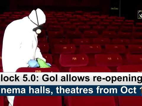 Unlock 5.0: GoI allows re-opening of cinema halls, theatres from Oct 15