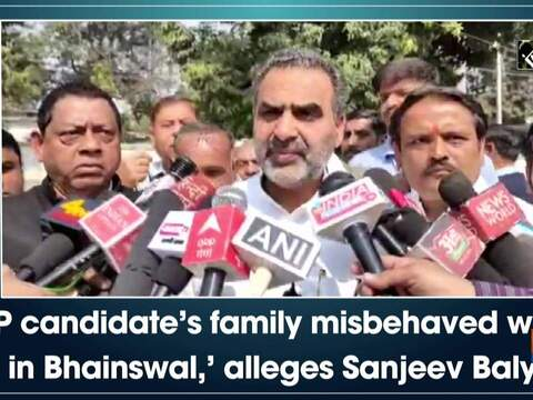 'SP candidate's family misbehaved with me in Bhainswal,' alleges Sanjeev Balyan