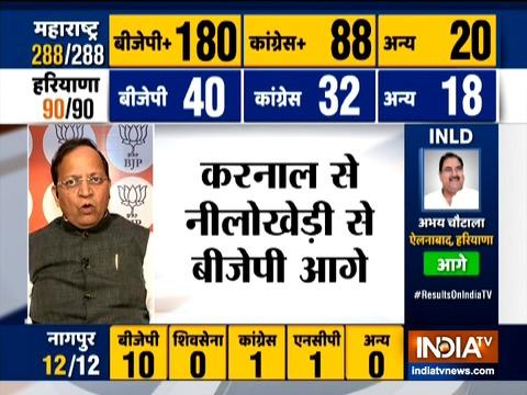 भाजपा पार्टी हरियाणा में पूर्ण बहुमत से सरकार बनाएगी: अरुण सिंह