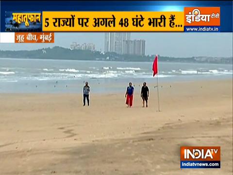 गोवा में तटीय क्षेत्रों से टकराया चक्रवात 'तौकते'