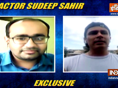 Actor Sudeep Sahir shares his emotions of working outside Mumbai amid Covid times