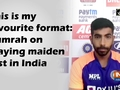 This is my favourite format: Bumrah on playing maiden test in India