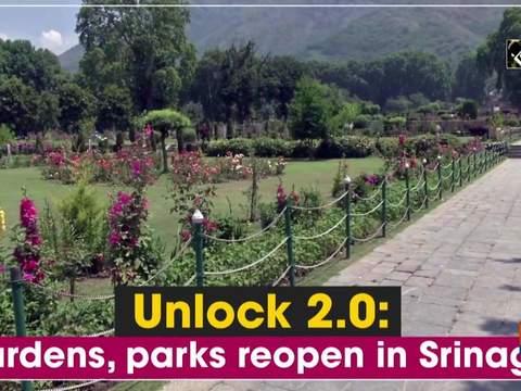 Unlock 2.0: Gardens, parks reopen in Srinagar