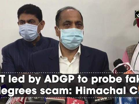 SIT led by ADGP to probe fake degrees scam: Himachal CM