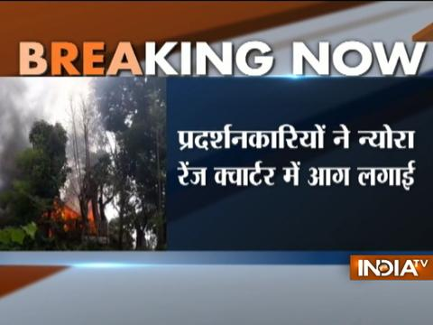 Darjeeling: Watch fresh visual of vehicles set ablaze allegedly by supporters in Neora range