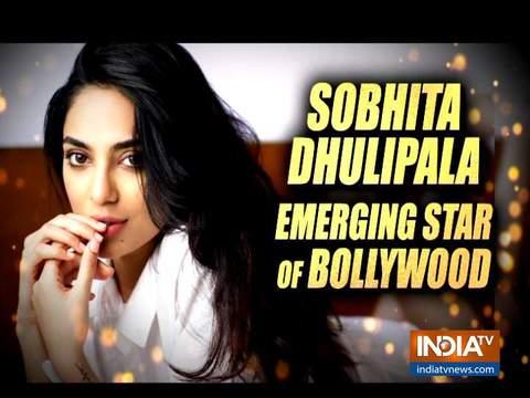 इंडिया टीवी पर शोभिता धूलिपाला का इंटरव्यू!