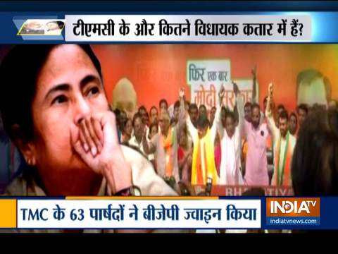 2 TMC MLAs, 56 councillors in Bengal quit party to join BJP