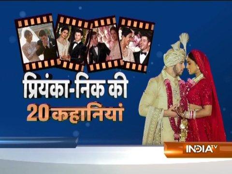 20 Stories | Priyanka Chopra and Nick Jonas wedding reception in Delhi