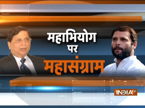 Congress in huddle over impeachment motion against CJI Dipak Misra?
