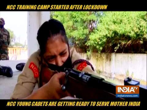 First NCC camp after COVID-19 lockdown brings cheers on the faces of cadets in Jammu