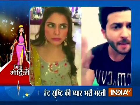 Adaa Khan gives best wishes to Naagin 3 team
