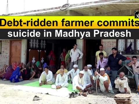 Debt-ridden farmer commits suicide in Madhya Pradesh