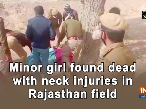 Minor girl found dead with neck injuries in Rajasthan field
