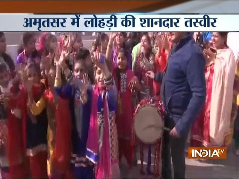 Nation celebrates lohri with great enthusiasm