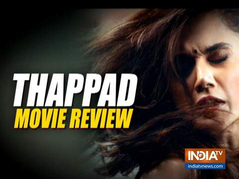 Planning to watch Taapsee Pannu starrer Thappad? Watch our review here