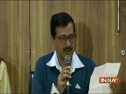 Delhi CM Arvind Kejriwal addresses media over sealing issue