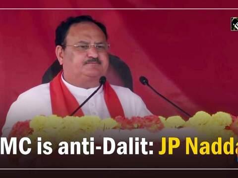 TMC is anti-Dalit: JP Nadda