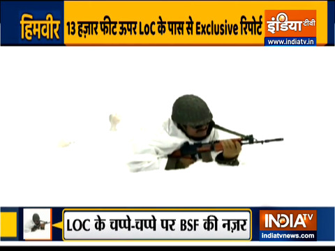India TV Exclusive Report Direct from LOC