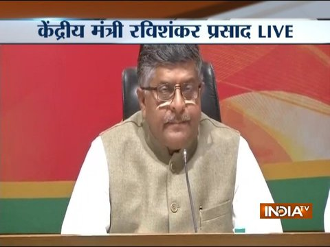 Under the economist PM Manmohan Singh the entire banking system went haywire: RS Prasad