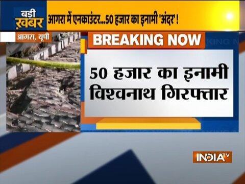 Uttar Pradesh: Wanted criminal nabbed in Agra
