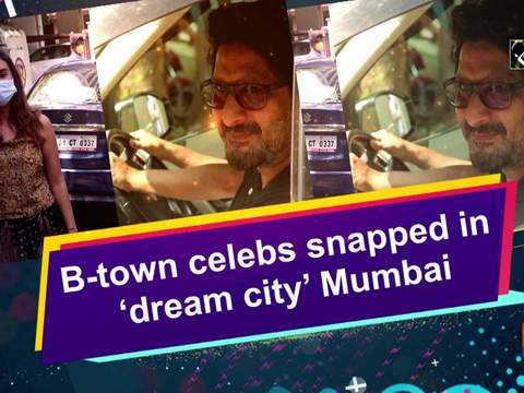 B-town celebs snapped in 'dream city' Mumbai