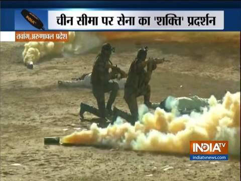 रक्षा मंत्री राजनाथ सिंह ने तवांग में मैत्री दिवस समारोह में भाग लिया