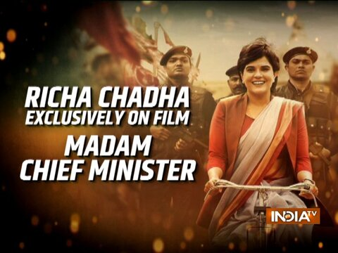 Actress Richa Chadha talks about her upcoming movie 'Madam  Chief Minister'