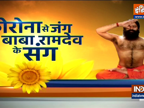 Swami Ramdev shares ayurvedic remedies, yogasanas to avoid the third wave of covid