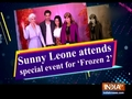 Sunny Leone attends special event for 'Frozen 2'