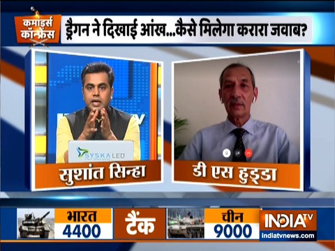 The presence of Indian Army is very strong in the Ladakh region: Lt General DS Hooda