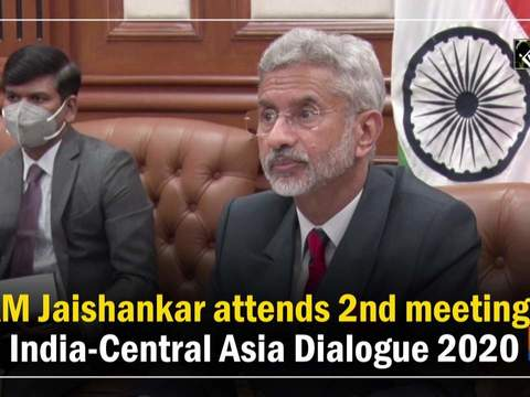 EAM Jaishankar attends 2nd meeting of India-Central Asia Dialogue 2020