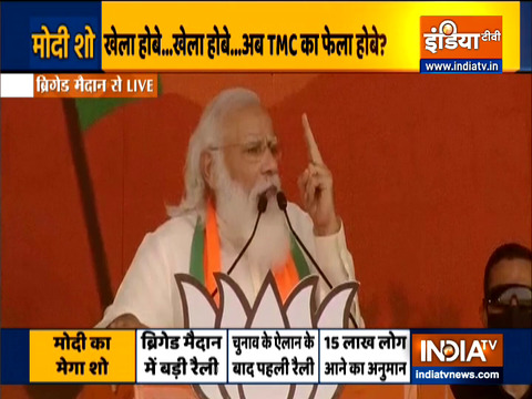 Have come to make you believe in 'Asol Poribortan', in Bengal's development: PM Modi