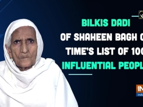 Bilkis dadi of Shaheen Bagh on TIME's list of 100 influential people