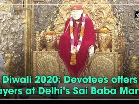 Diwali 2020: Devotees offers prayers at Delhi's Sai Baba Mandir
